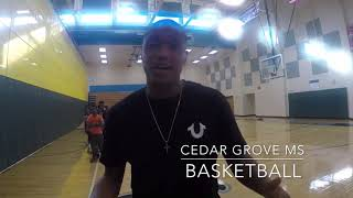 Cedar Grove Middle School Basketball Tryouts 2018-2019