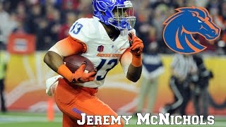 Jeremy McNichols || Big Time Running Back|| NFL Draft Class 2017