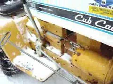 Cub Cadet Snowblower