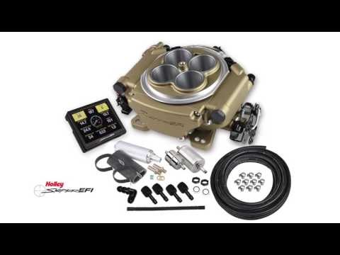 Holley Sniper EFI Self-Tuning Kits Affordable Carburetor Replacement Electronic Fuel Injection