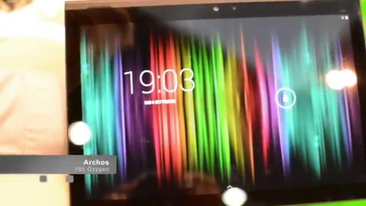 Archos 101 oxygen une tablette 10 pouces moins de 200 - Tablette 16go 10 pouces ...