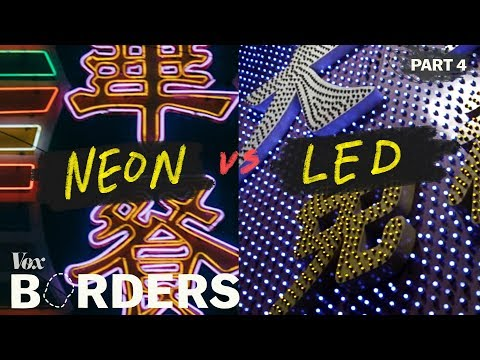 The decline of Hong Kong's iconic neon glow