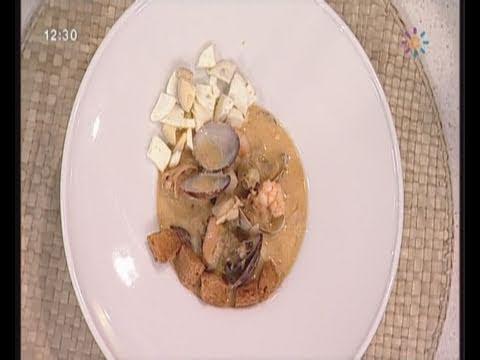 Sopa de Pescado  Receta Cocina Mira la vida