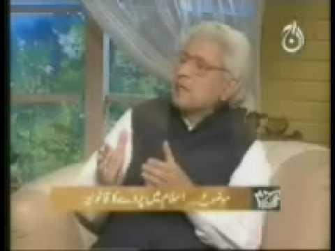 Ghamidi - Ruling Of Hijab In Islam (1) video