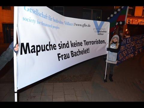 Mapuche sind keine Terroristen, Frau Bachelet!
