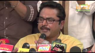 Sarathkumar Team Met The Press Regarding Nadigar Sangam Election