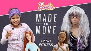 Z wizytą w klubie FITNESS, Made to Move Barbie