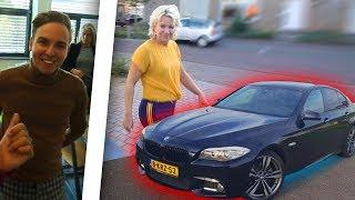 REACTIE MOEDER + DYLAN HAEGENS OP EERSTE AUTO & MAGNEETVISSERS VANGEN EEN FIETS ?!?!