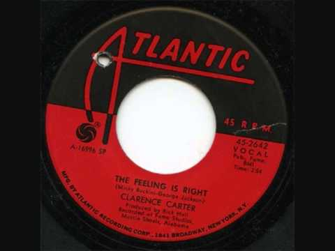 Clarence Carter ~ The Feeling Is Right video