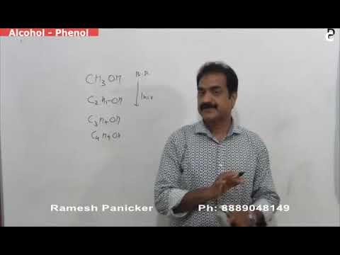 Org Chemistry Alcohol Phenol Ether-1