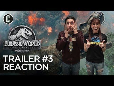 Jurassic World: Fallen Kingdom Trailer #3 Reaction & Review