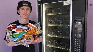 Buying Every Snack in the Vending Machine!