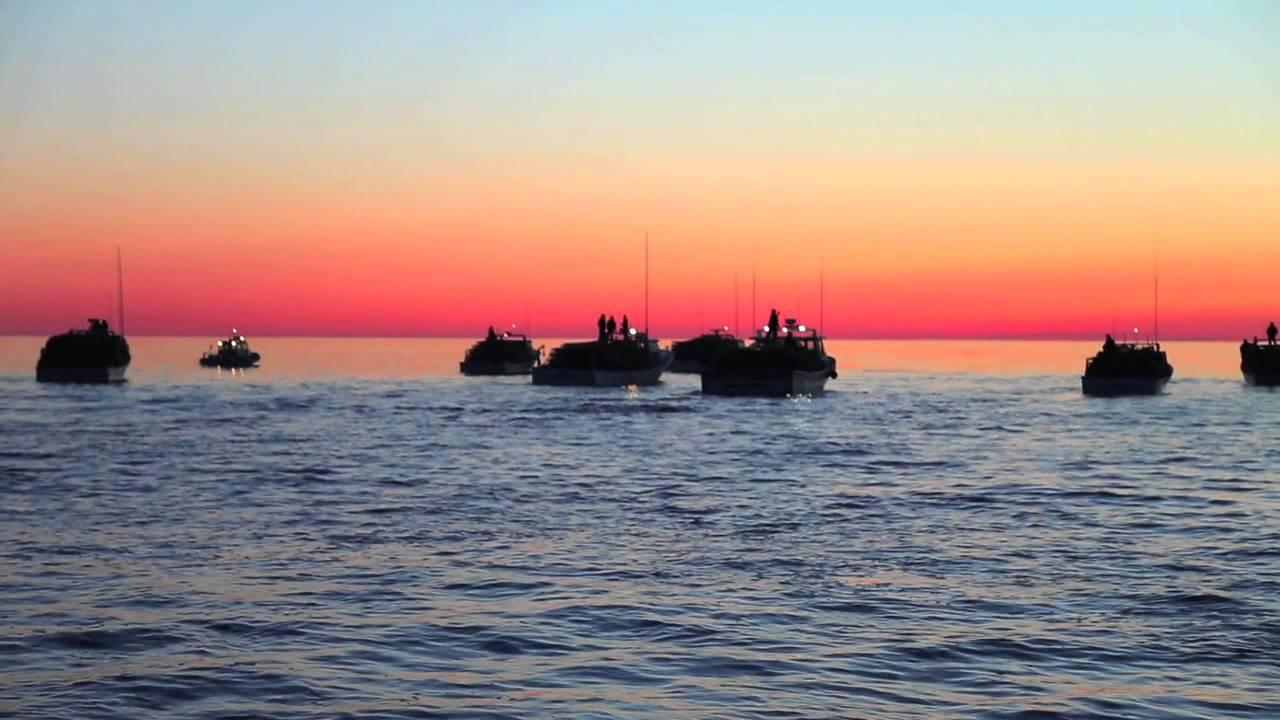 Lobster Fishing at Sunrise - Escuminac, NB - Canada - YouTube