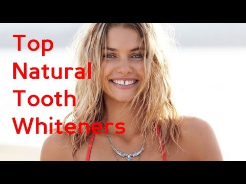 Natural Tooth Whiteners!