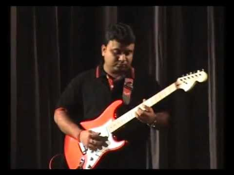 Rabindrasangeet in guitar by Sarit Das Part1.mp4