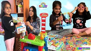 Cutie & Ashu Pretend Play Shopping Toys Playing with Building Straws Smart Construction Toy for Kids