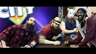 Wrestlemania 30 Axxess - Marking Out For The Wyatt Family