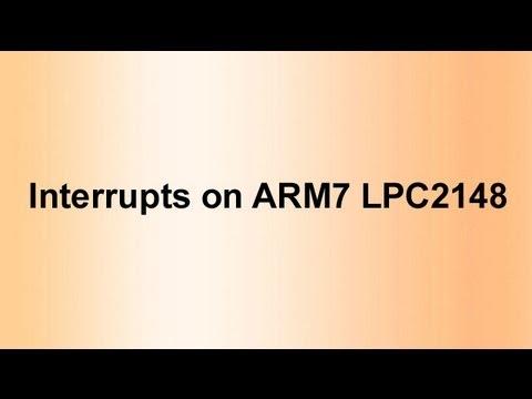 Arm7 Lpc2148 Interrupts on Arm7 Lpc2148