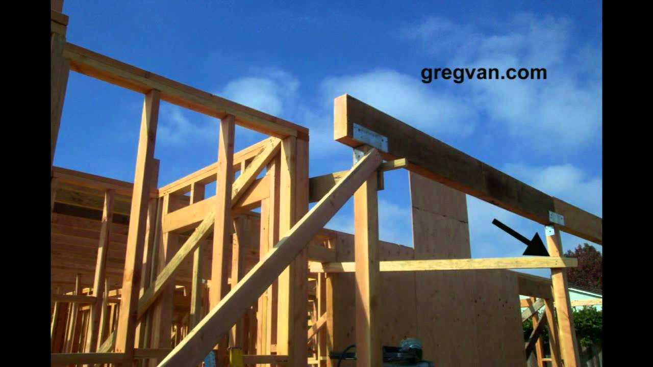 Wall Bracing Tips House Building And Framing Youtube