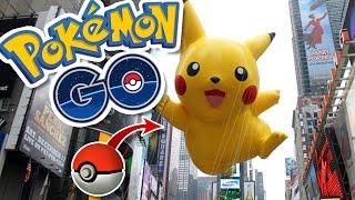 PIKACHU STARTER EASTER EGG!! | Pokémon GO in NYC