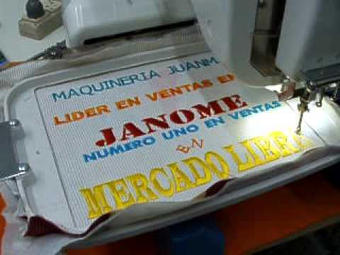 BORDADORA JANOME MB- 4 MAQUINERIA JUANMA