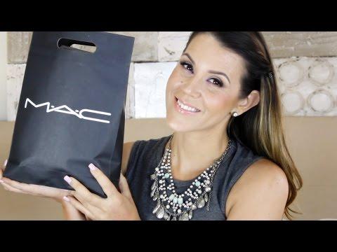 MAC Haul : Lipsticks, Eyeshadows, Cheek & Face Products