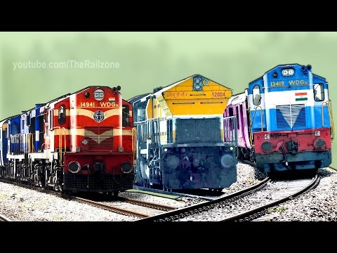 Musical Railway Tracks | Train Sound | Railroad | Indian Railways thumbnail