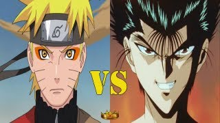 Anime/Manga Crossover Battle Match 11 Set 1 - Naruto Uzumaki Vs Yusuke Urameshi