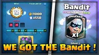 """קלאש רויאל - השגנו את הקלף החדש ה""""Bandit"""" !!! ( לגנדרי חדש ! )"""