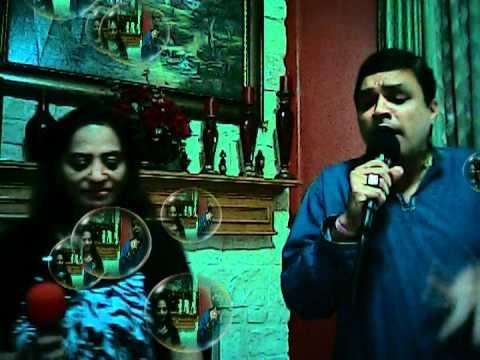 Kitna Pyaara Wada Hai - karaoke - Cover by Sulochana & Suresh...