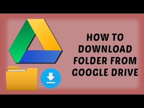 How To Download Folder From Google Drive | Easy Tutorials In Hindi