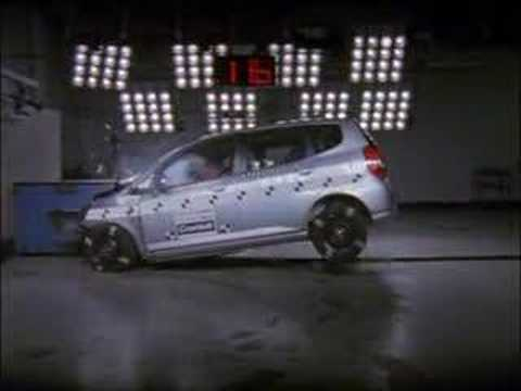 Honda Jazz (2003) crash test