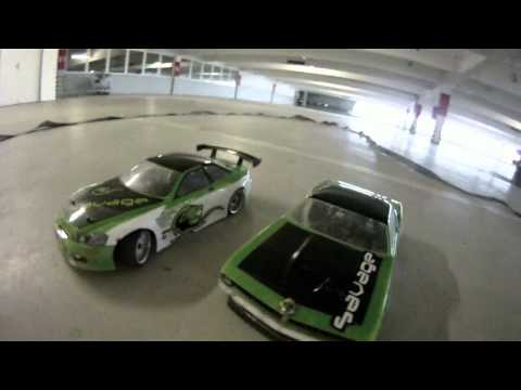 First Test RC Drift with GoPro HD Motorsports
