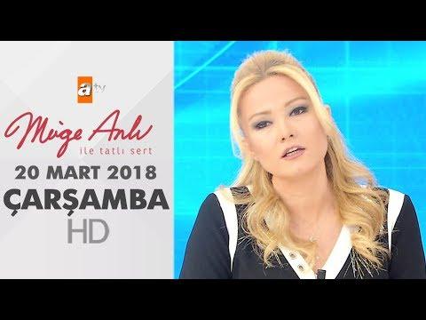 Müge Anlı ile Tatlı Sert 21 Mart 2018 | Çarşamba