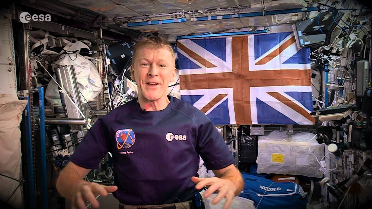 [Cool! Astronaut In The International Space Station Wishes Earth Happy New Year] Video