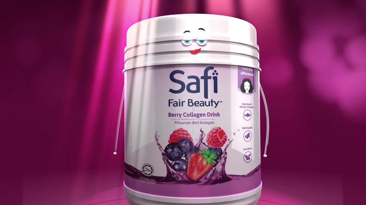 Minuman SAFI Kolagen - BFF Regimen Kecantikan Anda