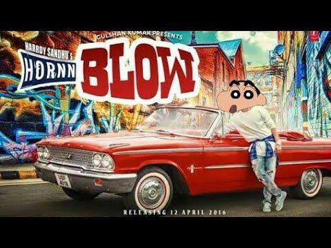 Hardy Sandhu: HORNN BLOW Song |Official Shinchan Video| Shinchan Cartoon Mix thumbnail