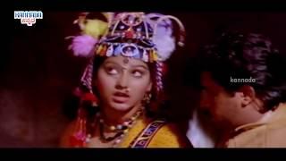 Malashri Loves Arjun Sarja | Prathap Kannada Movie Scenes | MalaShri | Kannada Movies