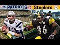 Brady's FIRST AFC Championship! (Patriots vs. Steelers, 2001 AFC Champ)