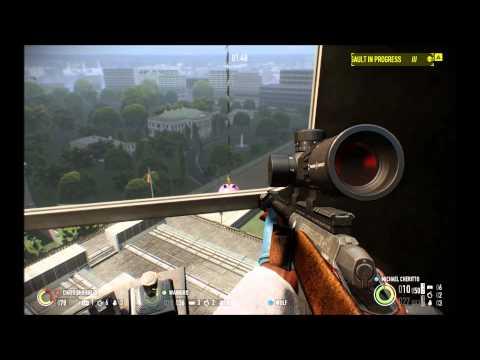 Payday 2 B-roll DLC Big Bank E3