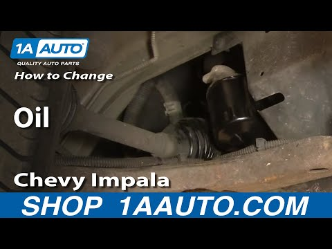 How To Change the Oil in a Chevy Impala 3.8L 3800 2000-05 1AAuto.com