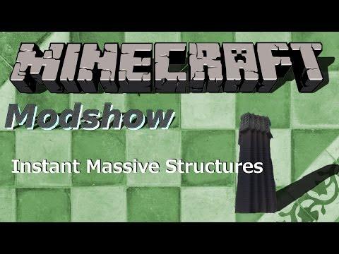 Minecraft Mods Instant Massive Structures Mod DeutschHD