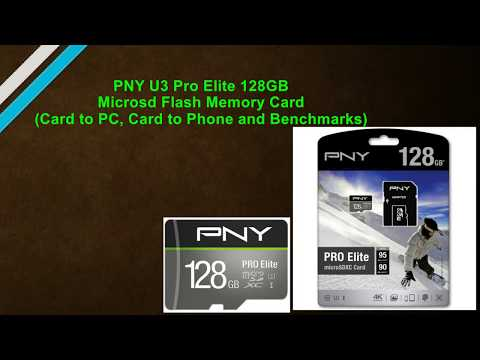 PNY U3 Pro Elite 128GB Microsd Flash Memory Card Review (Speed and Benchmarks)