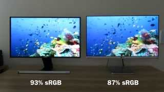 Samsung S24D590 vs LG 24MP76 comparison and review