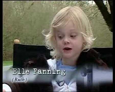 Elle Fanning Behind the Scenes DITF