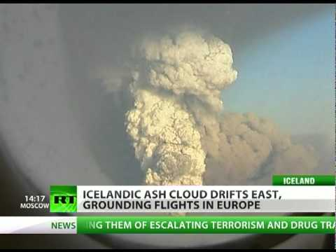Air Chaos Time? Iceland volcano ash cloud grounds flights... again