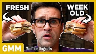 Week Old McDonald's Taste Test