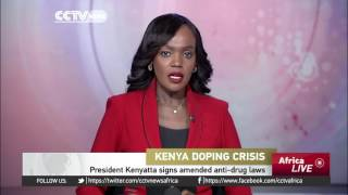 President Kenyatta signs amended anti-doping bill into law