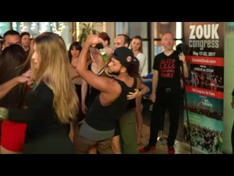 00081 NYCZF2016 ~ Several Artists in dance before J&J ~ video by Zouk Soul