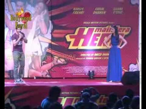 Mujsic launch of the film Mein Tera Hero   2